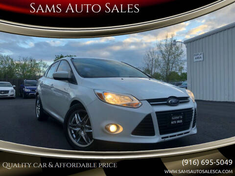 2012 Ford Focus for sale at Sams Auto Sales in North Highlands CA