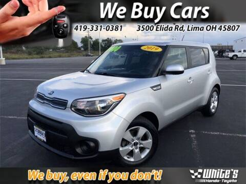 2019 Kia Soul for sale at White's Honda Toyota of Lima in Lima OH