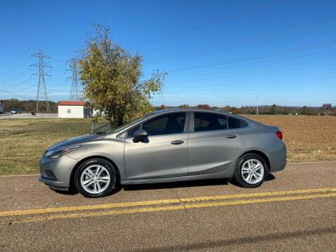 2017 Chevrolet Cruze for sale at Tennessee Valley Wholesale Autos LLC in Huntsville AL