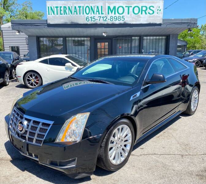 2012 Cadillac CTS for sale at International Motors Inc. in Nashville TN