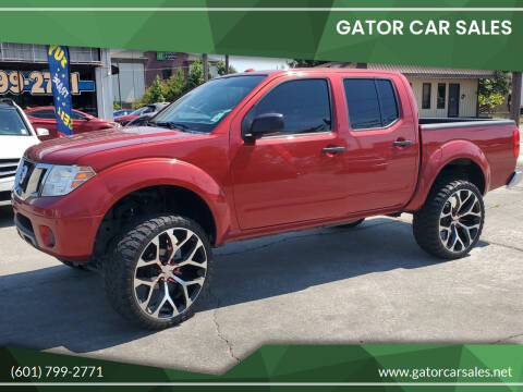 2014 Nissan Frontier for sale at Gator Car Sales in Picayune MS