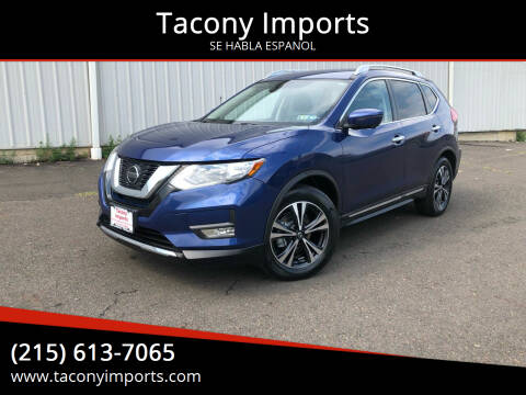 2018 Nissan Rogue for sale at Tacony Imports in Philadelphia PA