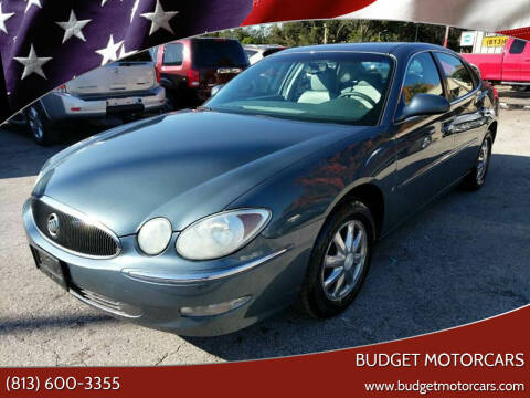 2006 Buick LaCrosse for sale at Budget Motorcars in Tampa FL
