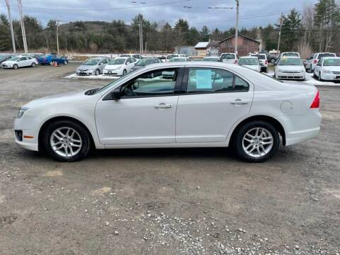 2012 Ford Fusion for sale at Upstate Auto Sales Inc. in Pittstown NY