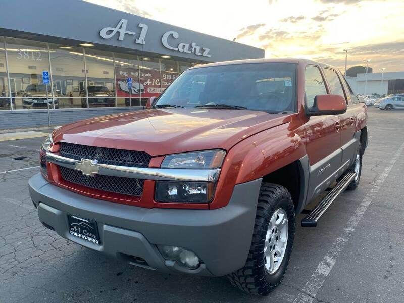 2002 Chevrolet Avalanche for sale at A1 Carz, Inc in Sacramento CA