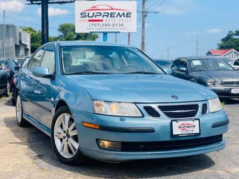 2007 Saab 9-3 for sale at Supreme Auto Sales in Chesapeake VA