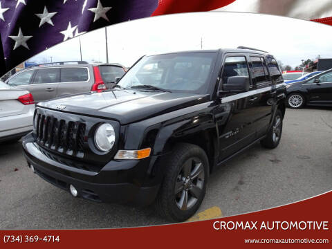 2015 Jeep Patriot for sale at Cromax Automotive in Ann Arbor MI