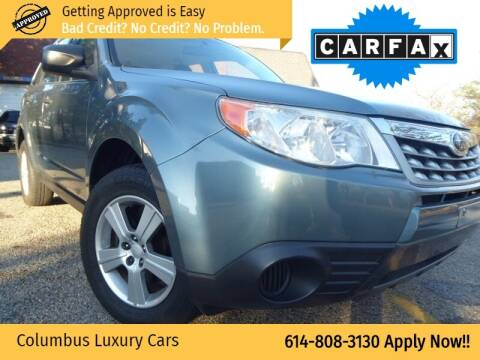 2010 Subaru Forester for sale at Columbus Luxury Cars in Columbus OH