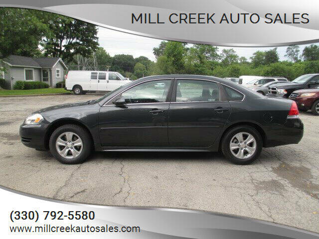 2014 Chevrolet Impala Limited for sale at Mill Creek Auto Sales in Youngstown OH