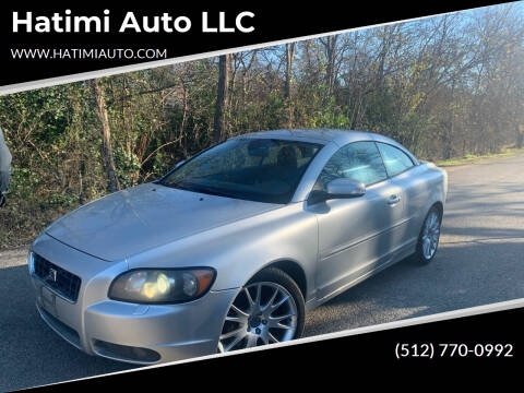 2008 Volvo C70 for sale at Hatimi Auto LLC in Buda TX