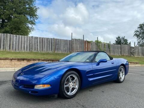 2002 Chevrolet Corvette for sale at Superior Wholesalers Inc. in Fredericksburg VA