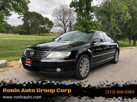 2005 Volkswagen Phaeton for sale at Ronin Auto Group Corp in Sun Valley CA
