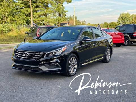 2016 Hyundai Sonata for sale at Robinson Motorcars in Hedgesville WV