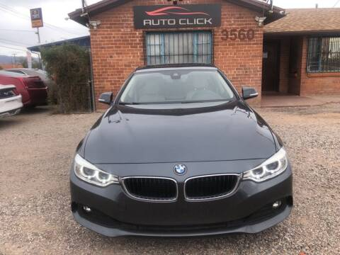 2015 BMW 4 Series for sale at Auto Click in Tucson AZ