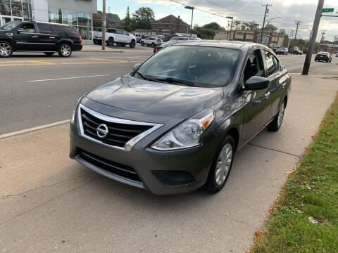 2017 Nissan Versa for sale at Adams Motors INC. in Inwood NY
