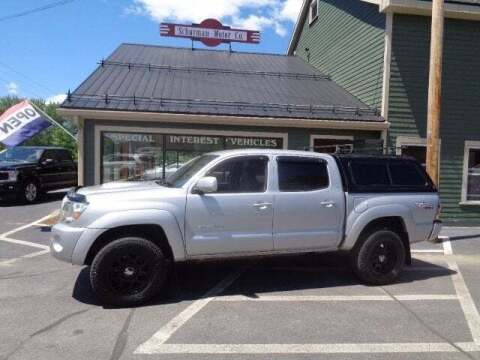 2011 Toyota Tacoma for sale at SCHURMAN MOTOR COMPANY in Lancaster NH