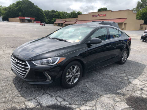 2017 Hyundai Elantra for sale at Penland Automotive Group in Laurens SC
