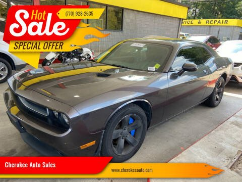 2013 Dodge Challenger for sale at Cherokee Auto Sales in Acworth GA