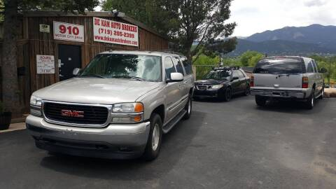 2005 GMC Yukon XL for sale at De Kam Auto Brokers in Colorado Springs CO
