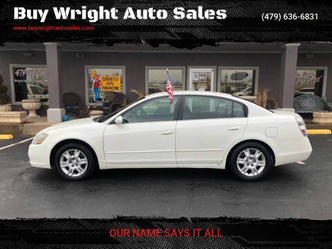 2005 Nissan Altima for sale at Buy Wright Auto Sales in Rogers AR