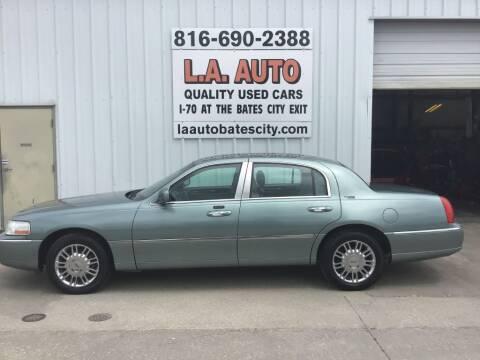 2006 Lincoln Town Car for sale at LA AUTO in Bates City MO