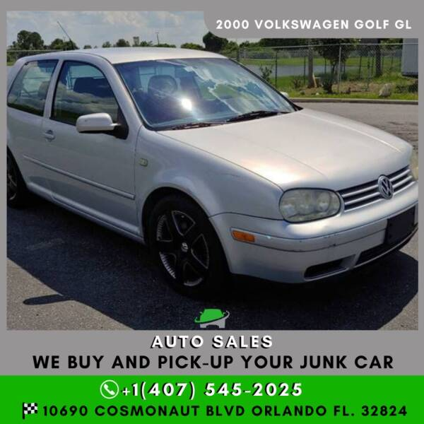 2000 Volkswagen Golf for sale at Orlando Auto Sales Recycling in Orlando FL