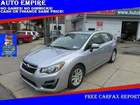 2015 Subaru Impreza for sale at Auto Empire in Brooklyn NY