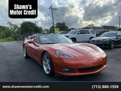 2005 Chevrolet Corvette for sale at Shawn's Motor Credit in Houston TX