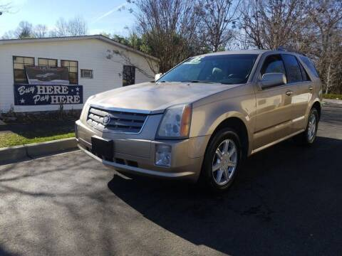 2005 Cadillac SRX for sale at TR MOTORS in Gastonia NC