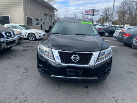 2013 Nissan Pathfinder for sale at Roy's Auto Sales in Harrisburg PA