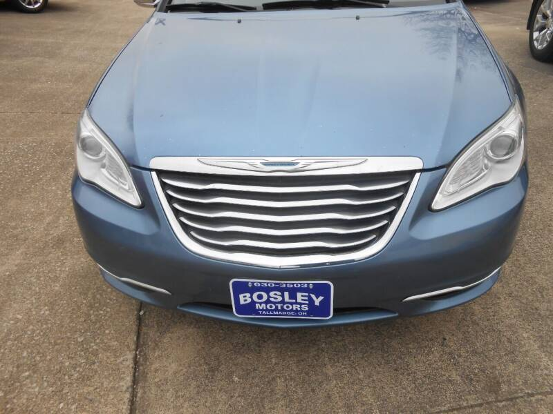 2011 Chrysler 200 Convertible for sale at BOSLEY MOTORS INC in Tallmadge OH