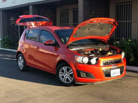 2012 Chevrolet Sonic for sale at AllanteAuto.com in Santa Ana CA