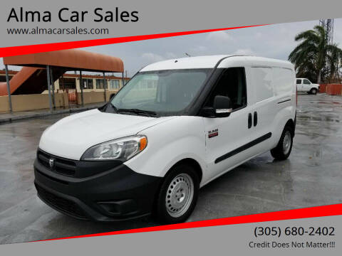 2015 RAM ProMaster City Cargo for sale at Alma Car Sales in Miami FL