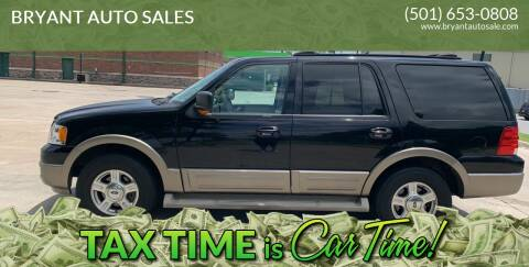 2004 Ford Expedition for sale at BRYANT AUTO SALES in Bryant AR