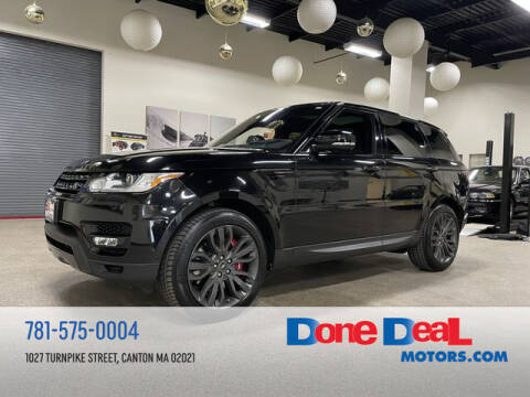 2017 Land Rover Range Rover Sport for sale at DONE DEAL MOTORS in Canton MA
