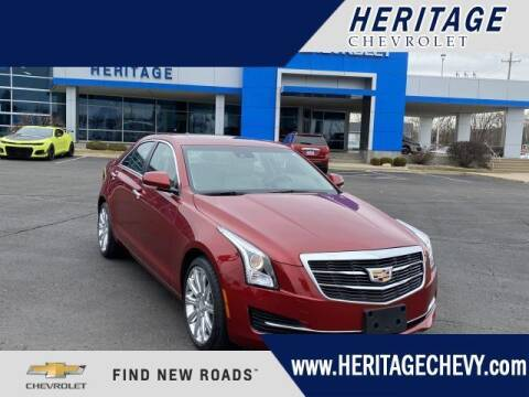 2018 Cadillac ATS for sale at HERITAGE CHEVROLET INC in Creek MI