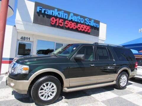 2013 Ford Expedition EL for sale at Franklin Auto Sales in El Paso TX
