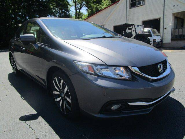2015 Honda Civic for sale at Lewis Page Auto Brokers in Gainesville GA