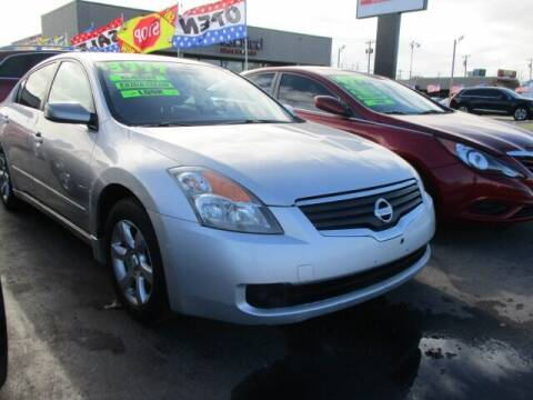 2007 Nissan Altima for sale at CAR SOURCE OKC in Oklahoma City OK