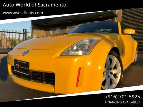2005 Nissan 350Z for sale at Auto World of Sacramento Stockton Blvd in Sacramento CA