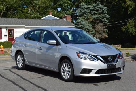 2019 Nissan Sentra for sale at LARIN AUTO in Norwood MA