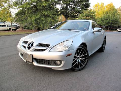 2009 Mercedes-Benz SLK for sale at Top Rider Motorsports in Marietta GA