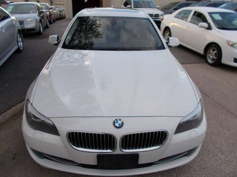 2011 BMW 5 Series for sale at ACH AutoHaus in Dallas TX
