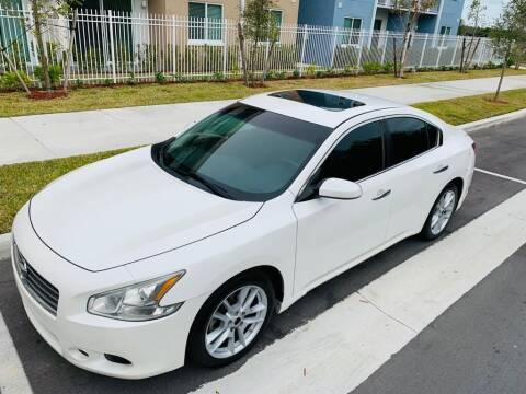 2010 Nissan Maxima for sale at LA Motors Miami in Miami FL