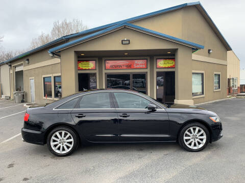 2013 Audi A6 for sale at Advantage Auto Sales in Garden City ID