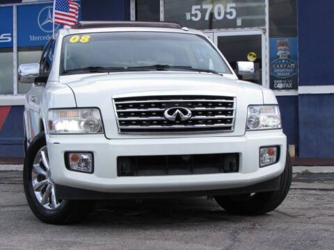2008 Infiniti QX56 for sale at VIP AUTO ENTERPRISE INC. in Orlando FL