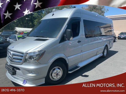 2015 Mercedes-Benz Sprinter 3500 for sale at Allen Motors, Inc. in Thousand Oaks CA