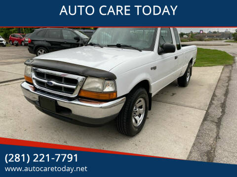 2000 Ford Ranger for sale at AUTO CARE TODAY in Spring TX