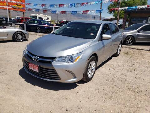 2017 Toyota Camry for sale at Bickham Used Cars in Alamogordo NM