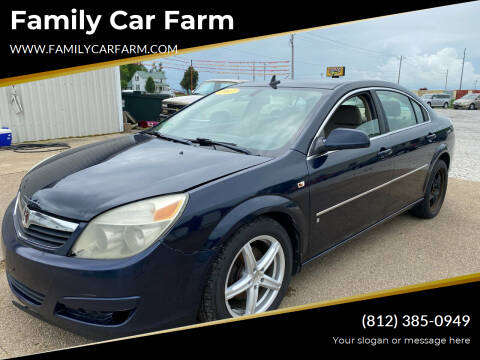 2007 Saturn Aura for sale at Family Car Farm in Princeton IN